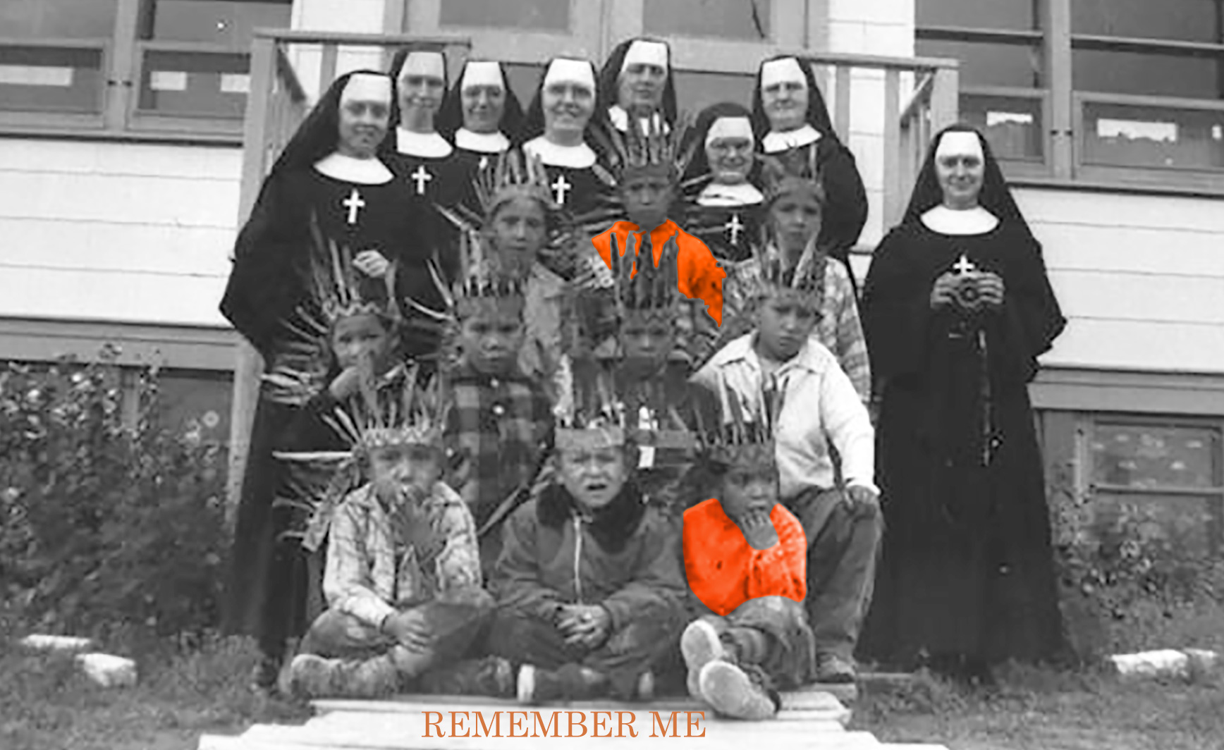 remember me, september 30, orange shirt day, ottawa, pass the feather, indigenous arts collective of canada, residential school, graves, remembrance day