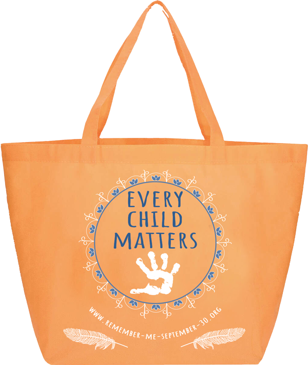 remember me, september 30, orange shirt day, ottawa, pass the feather, indigenous arts collective of canada, residential school, graves, remembrance day, sixties scoop, flag, fundraising, awareness, tote bag, every child matters